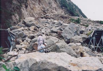 玉川岩盤崩落事故